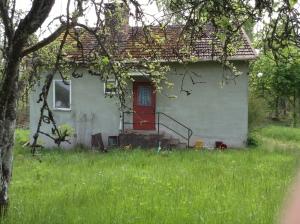 Ett hus som snart ska rivas